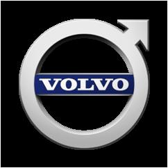 Volvo férfi fekete széldzseki