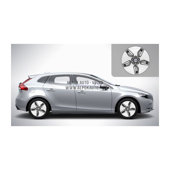 V40 Libra Diamond cut/Light grey 6,5x16 alufelni