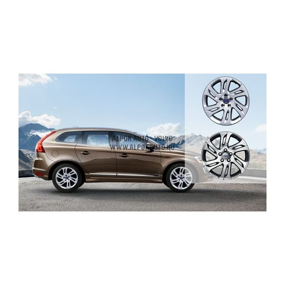 XC60 Valder Diamond cut/Titanium grey 7,5x17 alufelni