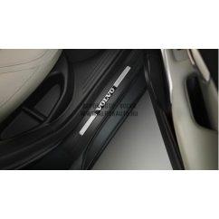 V40 Volvo hátsó küszöb (2db)