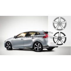 V40 Midir Diamond cut/Light grey 7,5x18 alufelni