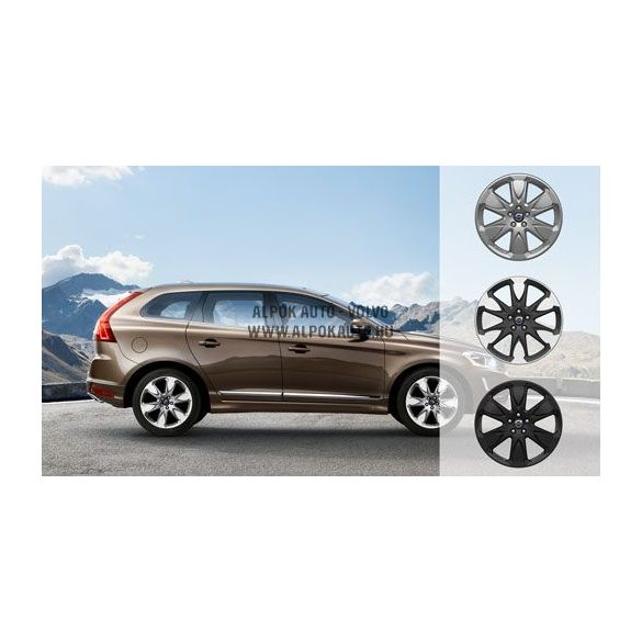 XC60 Erakir Black chrome 8x19 alufelni