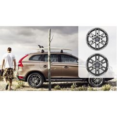 XC60 Achilles Diamond cut/Dark grey 7,5x19 alufelni