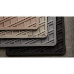 XC90 Mocca brown gumiszőnyeg (4 darabos)