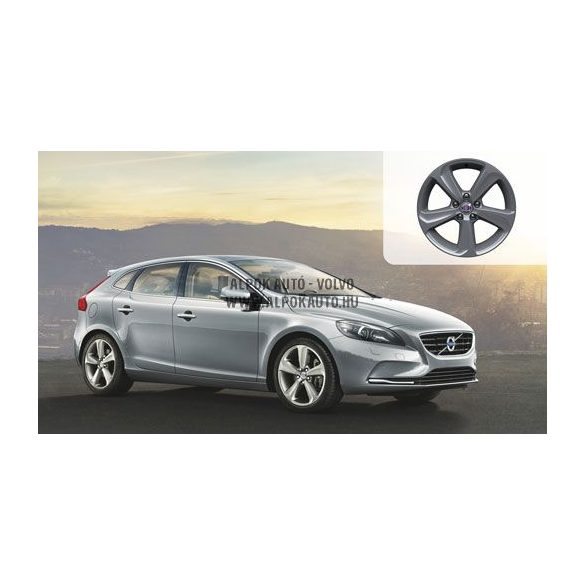 V40 Segomo Light grey 7,5x17 alufelni