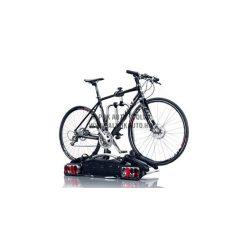 Vonóhorogra szerelhető kettes kerékpártartó