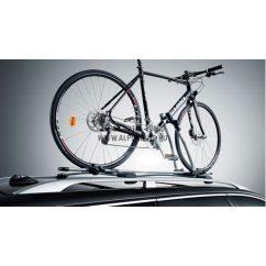 Keretre szerelhető kerékpártartó