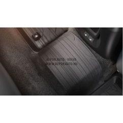 V40 Matt sötét hátsó összekötő gumiszőnyeg