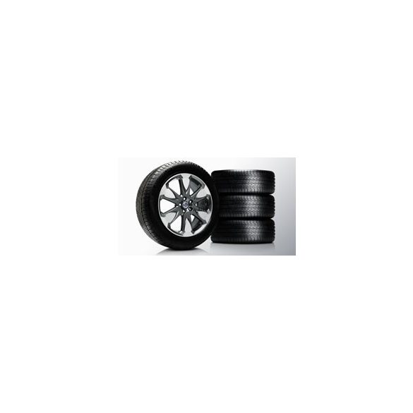 XC60 Erakir Diamond cut/Tech black matt 8x19 komplett nyárigumi szett