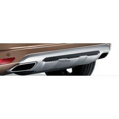 XC60 hátsó lökhárító burkolat Silver
