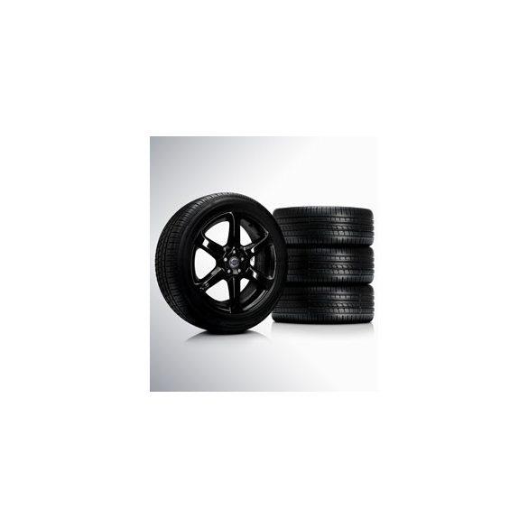 XC90 Alastor Glossy black 8x19 komplett nyárigumi szett