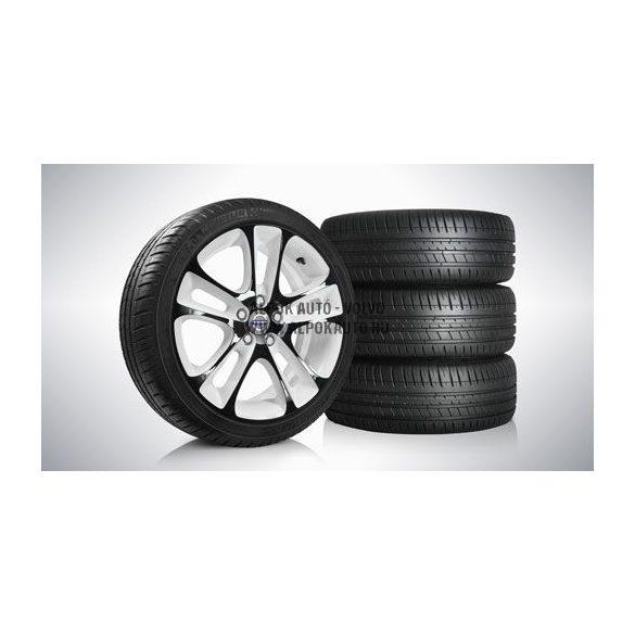 V40 Atreus Glossy Black/Glossy White 7,5x18 komplett nyárigumi szett