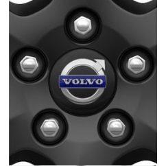 Sötétszürke Volvo kerék díszbetét /db (4 darab egy szett)