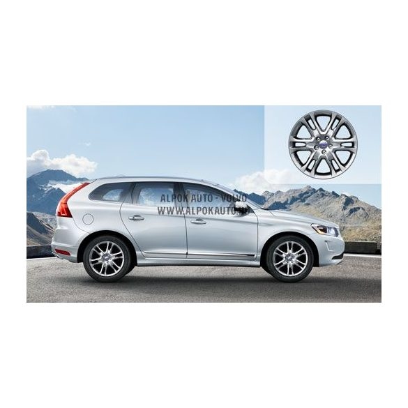 XC60 Pan Silver bright 7,5x18 alufelni