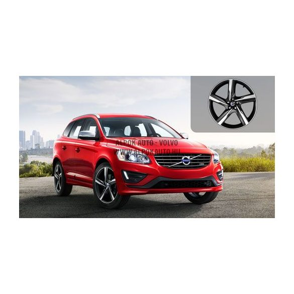 XC60 Ixion Diamond cut/Matt black 8x20 alufelni