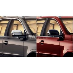 XC90 fekete visszapillantó tükrök