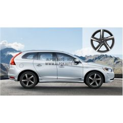 XC60 Ixion Diamond cut/Tech black matt 8x18 alufelni