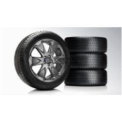 XC60 Erakir Black chrome 8x19 komplett nyárigumi szett
