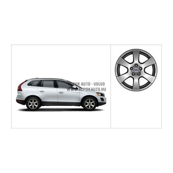 XC60 - Segin - Continental Conti4x4WinterContact - téli kerék