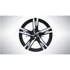 "XC40 - XC60 II - 19"" Double Spoke Matt Black Diamond Cut - alufelni"