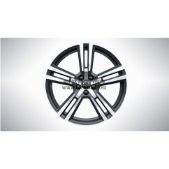 "XC60 II - 20"" Double Spoke TechBlack Diamond Cut - alufelni"