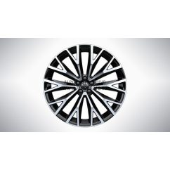 "XC60 II - 22"" Open Spoke Black Diamond Cut - alufelni"