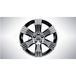 "XC40 - 18"" Spoke Black Diamond Cut - alufelni"