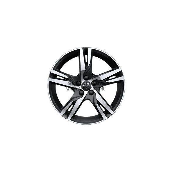 "XC40 - 18"" Double Spoke Matt Black Diamond Cut - alufelni"
