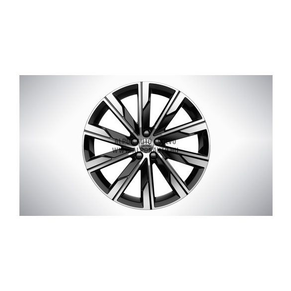 "V60 II - 20"" Spoke Turbine Black Diamond Cut - alufelni"