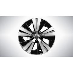 "V60 II - 16"" Spoke Black Diamond Cut - alufelni"