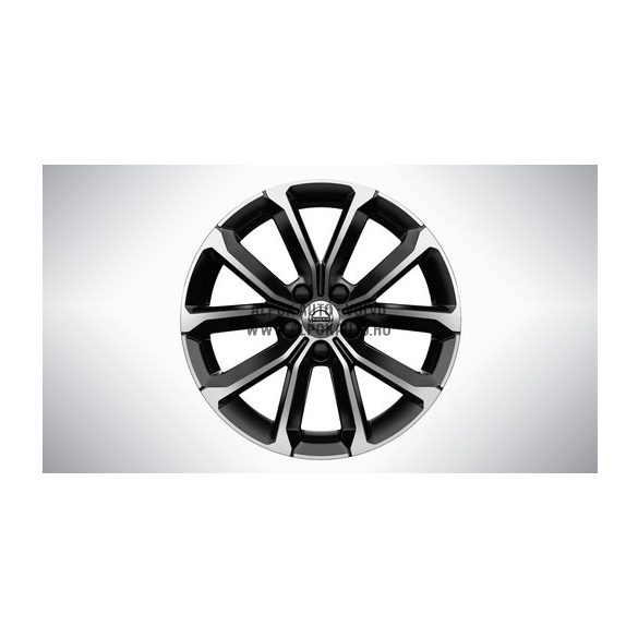 "V60 II - 17"" V Spoke Black Diamond Cut - alufelni"