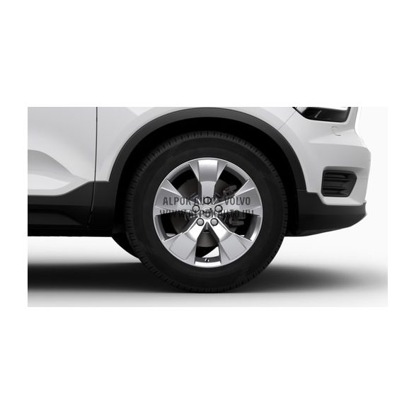 """XC40 - 18"""" Spoke Silver - komplett téli kerék szett - Nokian"""