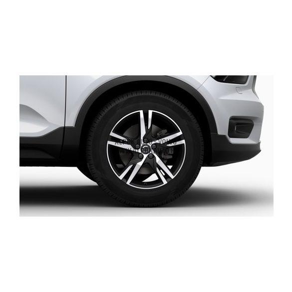 """XC40 - 19"""" Double Spoke Matt Black Diamond Cut - komplett téli kerék szett - Michelin"""
