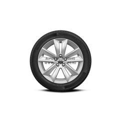 """V60 II - 17"""" Double Spoke Silver - Komplett téli kerék szett - Nokian"""