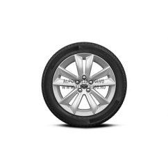 """V60 II - 17"""" Double Spoke Silver - Komplett téli kerék szett - Continental"""