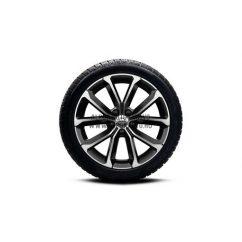 """V60 II - 17"""" Spoke Black Diamond Cut - Komplett téli kerék szett - Continental"""