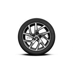 "V60 II - 18"" Spoke Black Diamond Cut - Komplett téli kerék szett - Nokian"