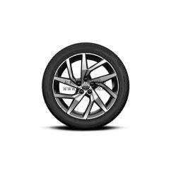 """V60 II - 18"""" Spoke Black Diamond Cut - Komplett téli kerék szett - Continental"""