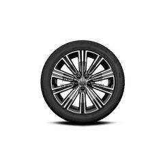 """V60 II - 18"""" Multi Spoke Black Diamond Cut - Komplett téli kerék szett - Pirelli"""