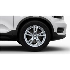 """XC40 - 18"""" Double Spoke Silver - komplett téli kerék szett - Continental"""