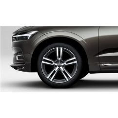 "XC60 II - 20"" Double Spoke Tech Black Diamond Cut - Komplett nyári kerék szett - Michelin"