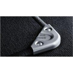 V70/XC70 fekete erősített szőnyeg (4 darabos)