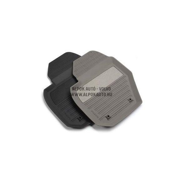 S80 sötét gumiszőnyeg (4 darabos)