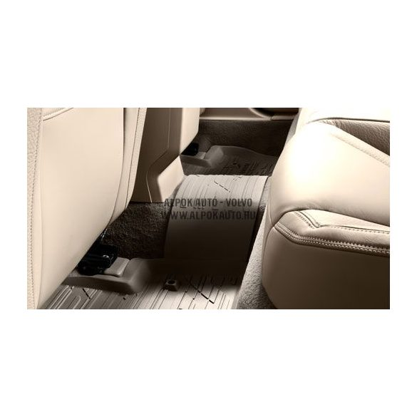 S60/V60 világos hátsó összekötő gumiszőnyeg