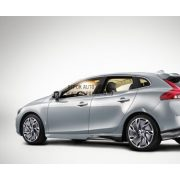 V40 Alios Diamond cut/Dark grey matt, White 7,5 x 18 alufelni