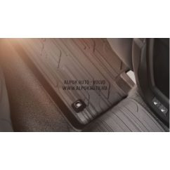 V40 Matt világos gumiszőnyeg (4 darabos)