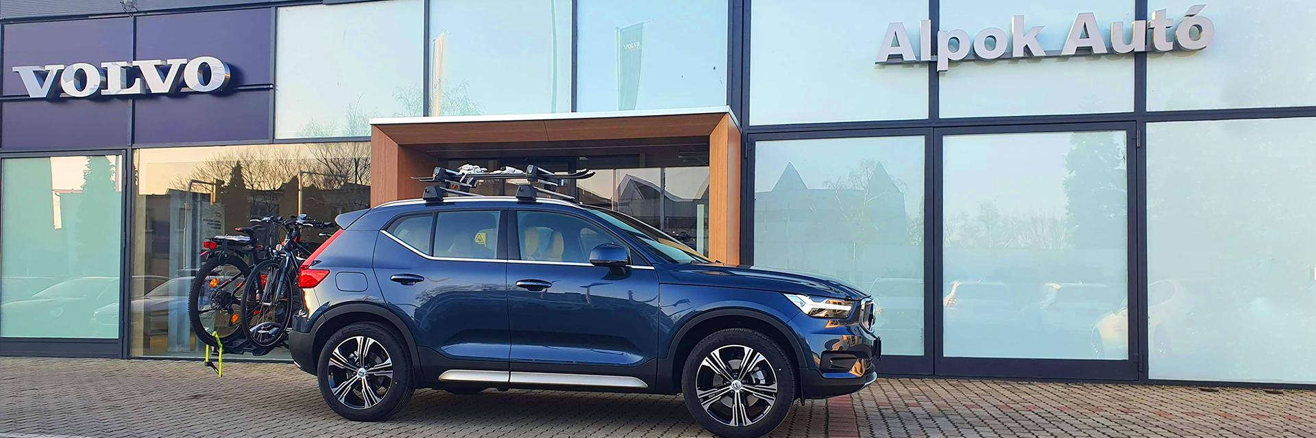 Volvo Alpok Autó rekord eladás